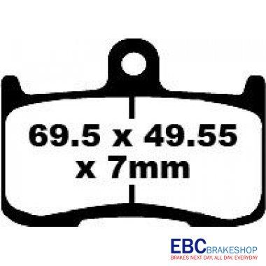 EBC Bike Brakes Extreme Pro Sintered Pad (EPFA347HH)